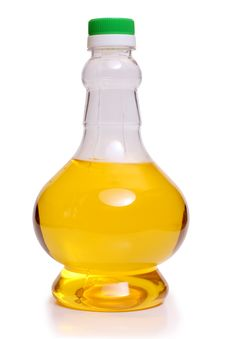 Free Oil In A Glass Bottle Royalty Free Stock Photos - 20127208