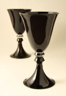 Free Black Goblets Stock Image - 20127491