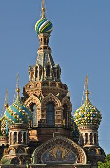 Free Sankt Petersburg Church Of The Spilled Blood Royalty Free Stock Photography - 20127597