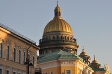 Free Sankt Petersburg Sightseeing: Isaac Cathedral Royalty Free Stock Photography - 20127627