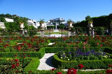 Free Beautiful Park In Salzburg Royalty Free Stock Image - 20127646