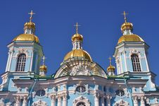 Free Sankt Petersburg Sightseeing Orthodox Church Stock Photos - 20127653