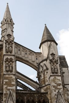 Westminster Abbey, London Royalty Free Stock Photography