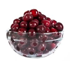 Free Cherries In Glass Plate Royalty Free Stock Image - 20128736