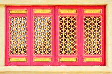Free Chinese Traditional Windows Stock Images - 20129134
