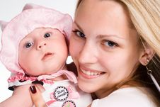 Free Mother With Baby Stock Image - 20129211