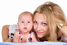 Free Mom With Baby Stock Images - 20129234