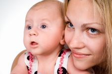 Free Mom With Baby Stock Photo - 20129240