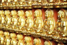 Free 10000 Golden Buddha Royalty Free Stock Photos - 20129248