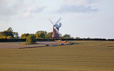 Traditional English Windmill Royalty Free Stock Image