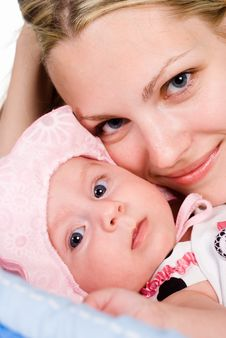 Free Baby And Mom Stock Photo - 20129660