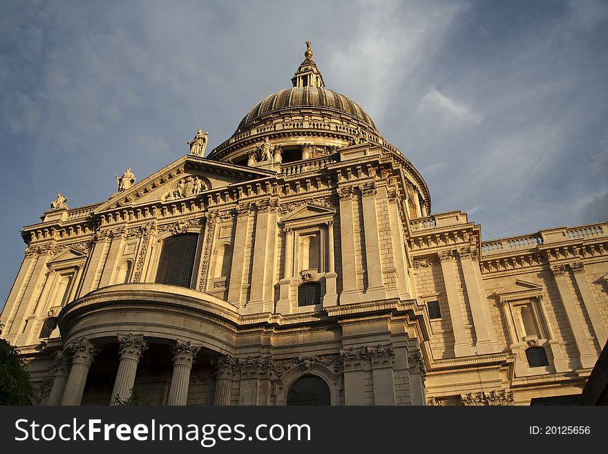 Saint Paul s cathedral London UK