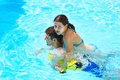 Free Couple In Swimming Pool Royalty Free Stock Images - 20131649