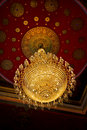 Free The Huge Old Antique Chandelier From The Ceiling O Stock Image - 20135401