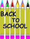 Free Pencil Crayons Stock Images - 20136324