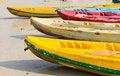 Free Old Colorful Kayaks Royalty Free Stock Photo - 20139395