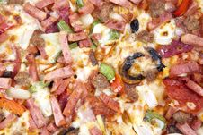 Free Junk Food: Pizza Stock Image - 20130071