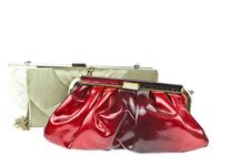 The Women Clutch Bag Stock Images