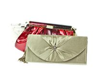 The Women Clutch Bag Royalty Free Stock Images