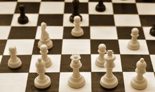 Free Chess Game Stock Image - 20130841