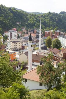 Free Panorama Of Srebrenica, Bosnia And Herzegovina Stock Photos - 20132443
