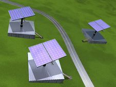 Free Photovoltaic Plant Stock Images - 20133314