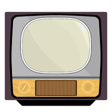 Free Old TV Stock Photography - 20133442