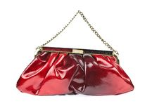The Women Clutch Bag Isolated Royalty Free Stock Images
