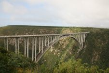 Free Bridge Over Canyon Stock Photos - 20133653