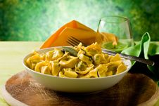 Free Tortellini With Butter And Sage Stock Images - 20134064