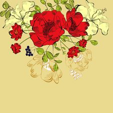 Free Floral Background Royalty Free Stock Photos - 20134158