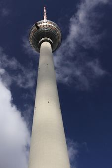 Television Tower In Berlin Royalty Free Stock Image