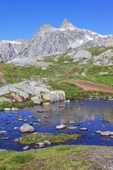 Alpine Paradise Royalty Free Stock Photo