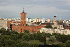 Free Berlin Panorama Stock Photos - 20135613