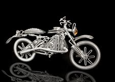 Free Isolated Motorcycle Stock Photography - 20136022