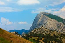 Free Crimean Mountain Falcon Stock Images - 20136184