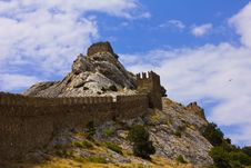 Free Wall Fortress In Crimea Stock Photos - 20136203