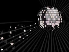 Free Mirror Ball Background Royalty Free Stock Photos - 20136408