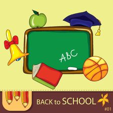 Free Colorful School Background Stock Photos - 20136533