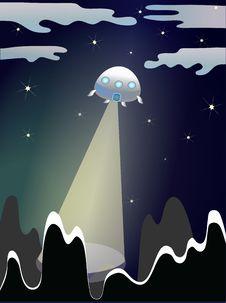 Free UFO Illustration Stock Photo - 20136540
