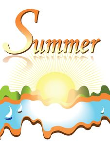 Free Summer Banner Royalty Free Stock Images - 20136549