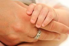 Free Holding Hand Stock Image - 20137421