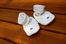 Free Baby Shoes Stock Images - 20137784