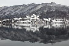 Free Hallstatt Lake In Winter Stock Images - 20138124