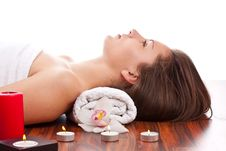 Free Woman In Spa Stock Photography - 20138412