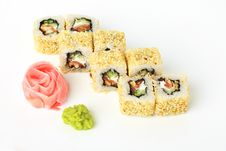 Free Sushi Roll Royalty Free Stock Photography - 20138577