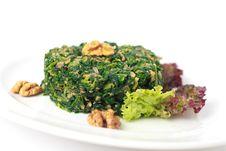 Free Italian Hot Spinach Salad Stock Photo - 20138580