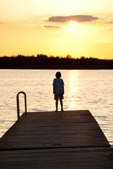 Free Peace Of Summer Evening Stock Photography - 20138682