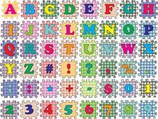 Free ABC  Puzzle Color Stock Photo - 20138760