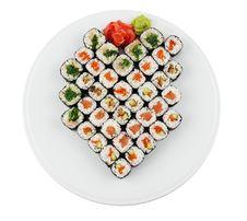 Free Sushi Royalty Free Stock Photography - 20139497